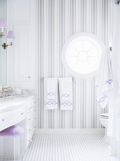 Love the lavender with the gray! A Botanically Beautiful Home by Celerie Kemble - The Glam Pad Hippie Home Decor, Indian Home Decor, Celerie Kemble, Walk In Shower Designs, Home Remodeling Diy, Minimalist Home Interior, Home Decor Pictures, Southern Homes, Home Decor Kitchen