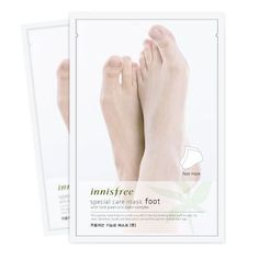 Korean Cosmetic Innisfree Special Care Mask Foot Pack #Innisfree