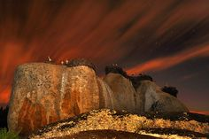 Los Barruecos in Caceres in Extremadura are some of the oldest rocks in Spain, over 500 million years old.