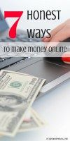 There are actually honest ways to make money online. These ideas are great for anyone. Thanks for sharing!