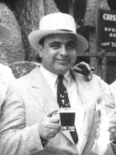 Capone having a prohibition brew: Those with power had the capacity to drink and even brew their own alcohol during the 1920's. Capone eluded the law for several years during Prohibition, as shown above.