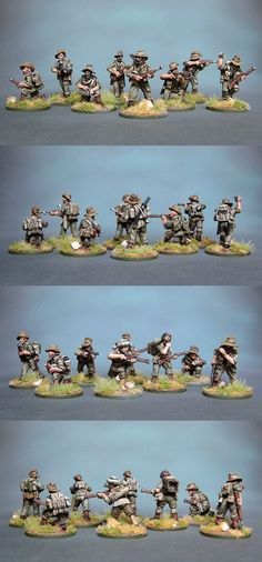 British CHINDITS Scale: 1/56(28mm) Manufacturer: Warlord Games UK Game: BOLT ACTION Painted by: OMP(Olsianon Miniatures Painting)