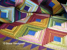 "Diane Gaudynski ""A New Tradition in Quilting"": Part 4: Moving the Quilt: Batting, Products, and Visibility"