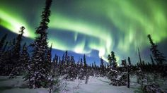 U.S. skygazers could get rare glimpse of northern lights  A view of Aurora Borealis.