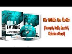 Bíblia Completa em Áudio Português, Inglês, Espanhol, Hebraico e Grego