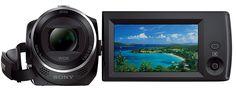 Sony HDR-CX240E HD Flash Camcorder schwarz