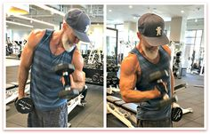 Better Arms – 17 Exercises Build Lean Strength in Your Biceps and Triceps Full Arm Workout, Bicep And Tricep Workout, Six Pack Abs Workout, Biceps And Triceps, Free Workout Apps, Gym Workouts, Building Biceps, Strength Training For Beginners, Hammer Curls