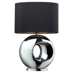 Alonnisos Table Lamp in Chrome