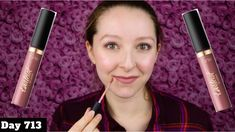 TARTE TARTEIST QUICK DRY MATTE LIP PAINT REVIEW - YouTube
