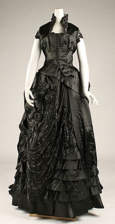 Dinner Dress   c.1870's The Metropolitan Museum of Art