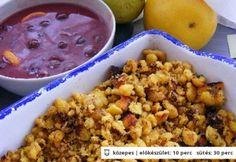 Gluténmentes császármorzsa 2. Dairy Free, Oatmeal, Grains, Paleo, Gluten, Rice, Vegetables, Breakfast, Recipes