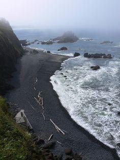 Yaquina Head Outstanding Natural Area In Newport, Oregon