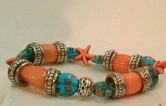 Check out this item in my Etsy shop https://www.etsy.com/listing/217486784/tropical-beachy-bracelets-in-vivid-sea