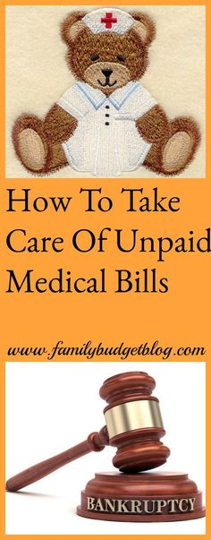 Financial Resources For Busy Families Follow these steps to pay off your unpaid medical bills and avoid taking out bankruptcy.
