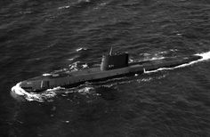 The nuclear-powered USS Nautilus (SSN-571), the first ship to utilize nuclear propulsion. Naval Institute Photo Archive