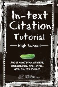 In this tutorial, teens will learn when they need an in-text citation and how to use one. They'll also learn how to correctly punctuate the quotation.