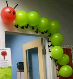 Parte, balloons, kids