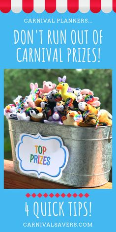 4 Tips to Avoid Running Out of. Carnival & Festival Planners – How to avoid running out of Carnival Prizes at your booths! Diy Carnival Games, Carnival Booths, Carnival Games For Kids, Carnival Prizes, Spring Carnival, Carnival Themed Party, Carnival Birthday Parties, Carnival Themes, Halloween Carnival