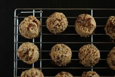 Steel cut oats breakfast cookie - minus the dates add choc chips of course.