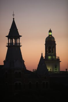 Baylor University skyline #SicEm