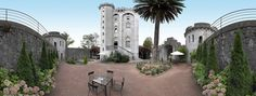 Castillo de Arteaga.  Hotel and restaurant in a park. Spain,Gautegiz Arteaga