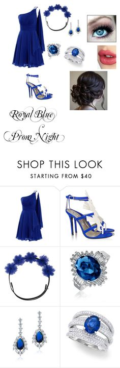"""""""Royal Prom Night #4"""" by rochelle0504 ❤ liked on Polyvore featuring Acne Studios, Gigi Burris Millinery, Bling Jewelry, Effy Jewelry and Charlotte Tilbury"""