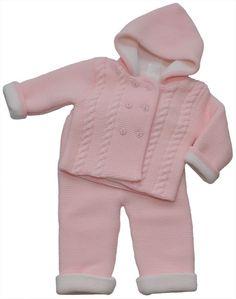 Conjunto rosa de bebe   Baby Pink Set