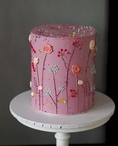 that cake no one wants to cut 🔪 diesen Kuchen will niemand schneiden 🔪 habe kein Problem damit Pretty Cakes, Beautiful Cakes, Amazing Cakes, Food Cakes, Cupcake Cakes, Cute Desserts, Dessert Decoration, Decorations, Painted Cakes