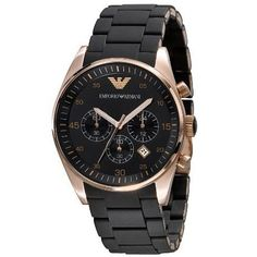 50% Off was $395.00, now is $199.00! Emporio Armani Chronograph Mens Watch 5905