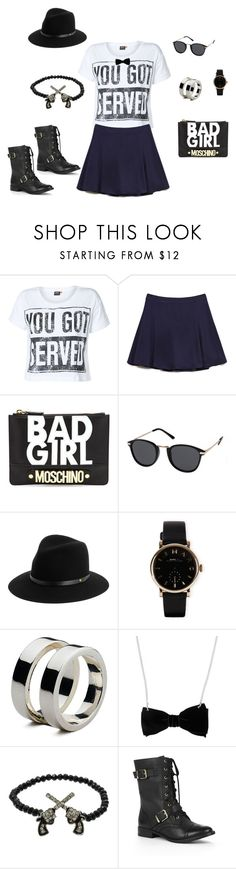 For Work by hacklebarney on Polyvore featuring ONLY, Forever 21, Sole Society, Moschino, Marc by Marc Jacobs, Armani Exchange, rag & bone and MINKPINK