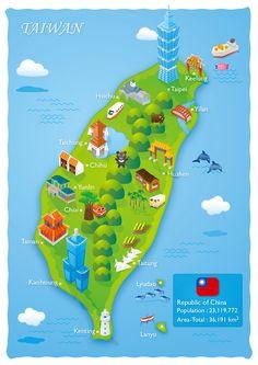 Taiwan on Behance
