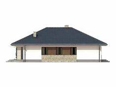 Aster idealny parterowy dom z tarasem dla 4-osobowej rodziny - Jesteśmy AUTOREM - DOMY w Stylu Aster, Gazebo, Outdoor Structures, Houses, Cooking, Kiosk, Pavilion, Cabana