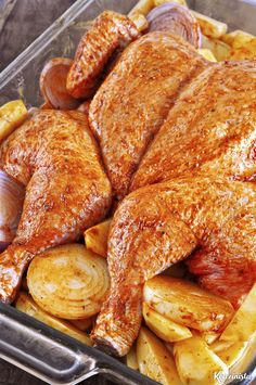 Mushroom Chicken, Roast Chicken, Carrots, French Toast, Stuffed Mushrooms, Food And Drink, Butterfly, Meals, Vegetables