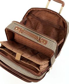 London Fog Chelsea Lites 360º Rolling Laptop Tote - Luggage Collections - luggage - Macy's
