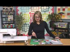My First Quilt - Episode 11 - Half Square Triangles and Quarter Square Triangles - YouTube