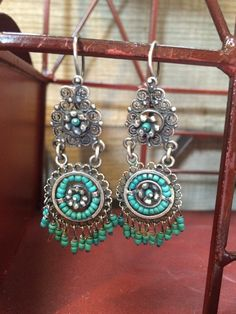 Mexican filigree earrings chandelier earrings frida kahlo earrings antique mexican silver filigree earrings from by romaarellano mozeypictures Images