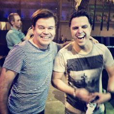 Paul Oakenfold & Markus Schulz  two of the best DJ's on the planet:-)