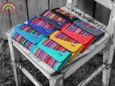 Colourful purses