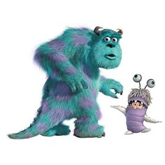 Sully Monsters Inc | home roommates monsters inc wall murals monsters inc sulley and boo ...