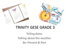 grade 3 dates and weather