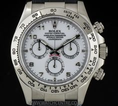ROLEX 18K WHITE GOLD O/P WHITE DIAL COSMOGRAPH DAYTONA 116519 http://www.watchcentre.com/product/rolex-18k-white-gold-o-p-white-dial-cosmograph-daytona-116519/5812
