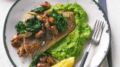 This crispy fish recipe makes a healthy and quick midweek dinner.