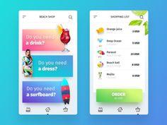 Beach Shop | Mobile App