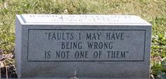 23 Morbidly Awesome Headstones - Gallery   eBaum's World