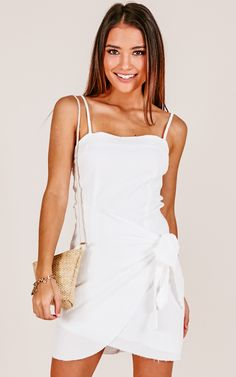 21cbcc5439d9 Showpo Gypsy Dreamer dress in white - 6 (XS) Casual Dresses Simple Wardrobe