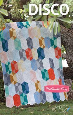 Disco Quilt Pattern Jaybird Quilts #quilt #sew