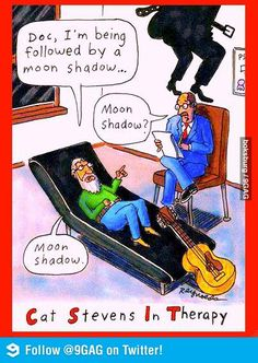 Cat Stevens in therapy...