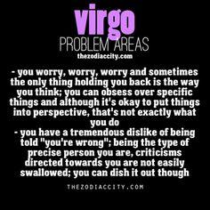 Zodiac Virgo problems.