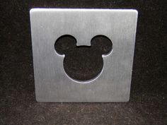 Disney Mickey Mouse Icon Metal Trivet Hot Pad Plate NEW - Fast Free Shipping