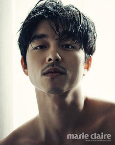 PHOTOS: Gong Yoo's back dimples in Marie Claire